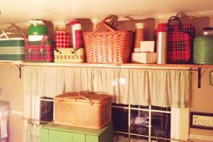 Finally a home for the vintage picnic collection