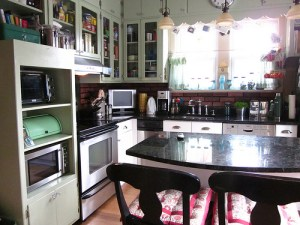 Project update: Painting the lower kitchen cabinets
