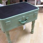 DIY: How to make a vintage suitcase table