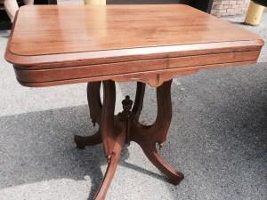 Antique entryway table
