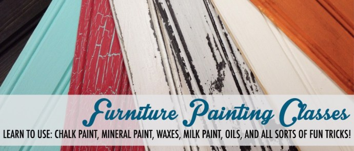 Furniture painting classes in the Chicago area