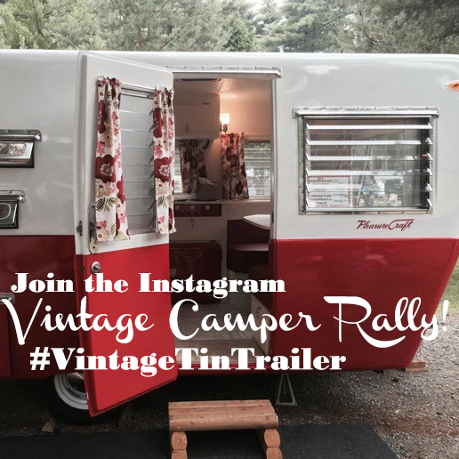 Vintage trailer rally Instagram party!