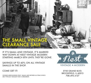 Vintage Smalls Sale starts this Friday!