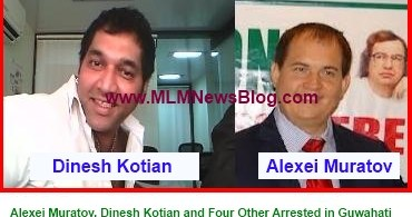Alexei Muratov, Dinesh Kotian and Four Other Arrested