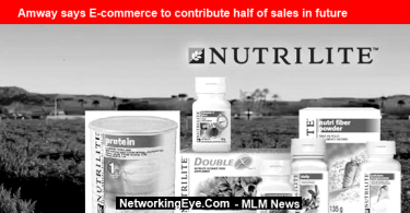 Amway says E-commerce to contribute half of sales in future