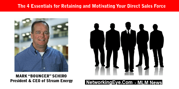 The 4 Essentials for Retaining and Motivating Your Direct Sales Force