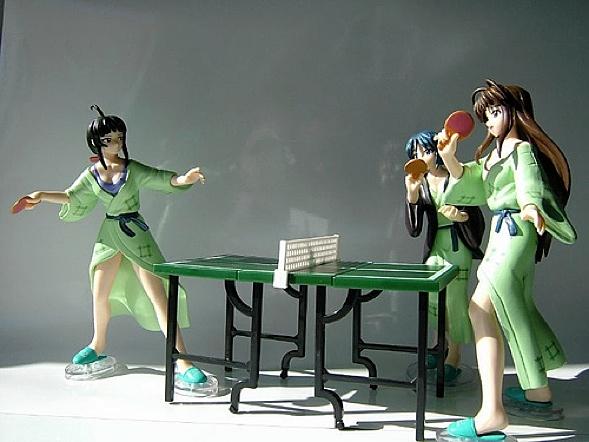 Figure Ping Pong: Onsen Set- Kanako Urashima