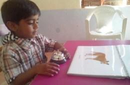 Image shows a little boy.