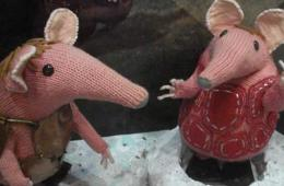Image shows Major and Tiny Clanger.