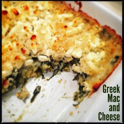 Greek Mac and Cheese | Neurotic Baker