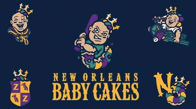 New Orleans Zephyrs change name to New Orleans Baby Cakes