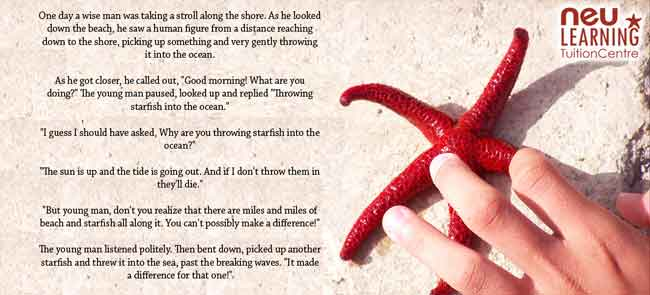 Starfish Story - NeuLearning Tuition Centre