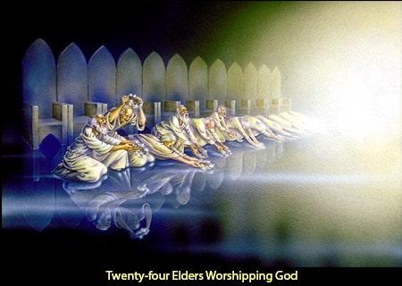 Twenty Four Elders Worship God