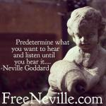 Neville's Secret Listening Method – by Neville Goddard