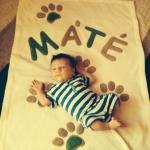 Máté baba tappancsai :-)