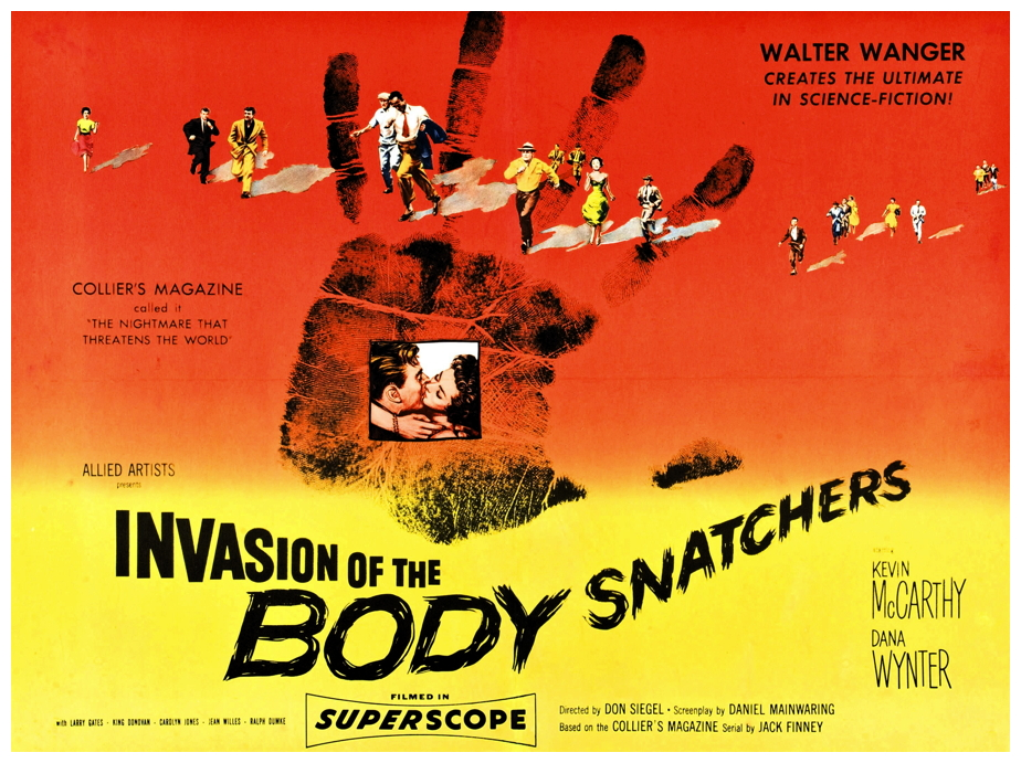 Clint Eastwood presents Invasion of the Body Snatchers on the Big Screen