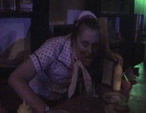 Mama's Dinner Waitress in Virus Z Knotts Scary Farm 2010