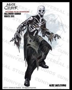Alice Cooper Skeletons