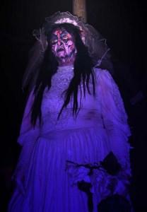 La Llarona at Knotts Scary Farm. Competition, maybe?