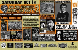von strawn monster party 2 poster