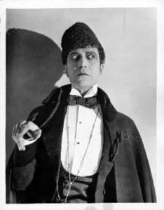Arthur Carewe as the Persian - er, as Ledoux