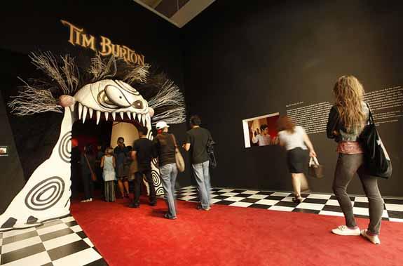 Tim Burton Exhibition, Closing Weekend