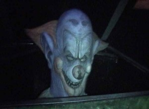 This jack-in-the-box within FrightFair's Factory of Nightmares bears a suspicious resemblance to KILLER KLOWNS FROM OUTER SPACE