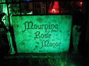 mourning title block