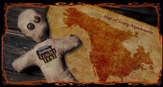Magic Mountain Fright Fest 2012
