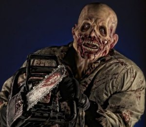 Sinister Pointe mutant with chainsaw