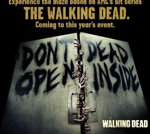 The Walking Dead: Dead Inside Halloween Horror Nights maze 2012