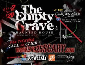 empty grave 2012 flier