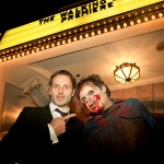 Halloween 2012: Andrew Lincoln and walker at Halloween Horror Nights