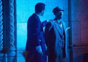 Brandon Massey and William Joseph Hill have an extended dialogue at the beginning of Count Magnus.