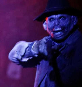 Winchester Mystery House ghoul with shotgun