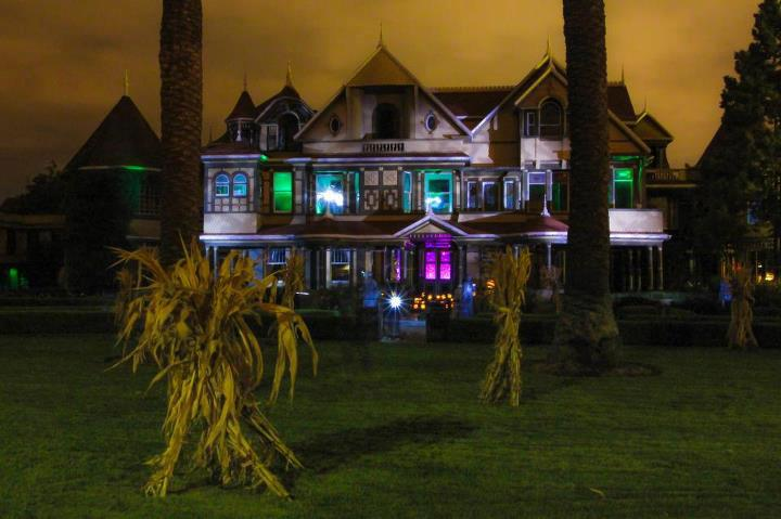 Winchester Mystery House Flashlight Tours in October