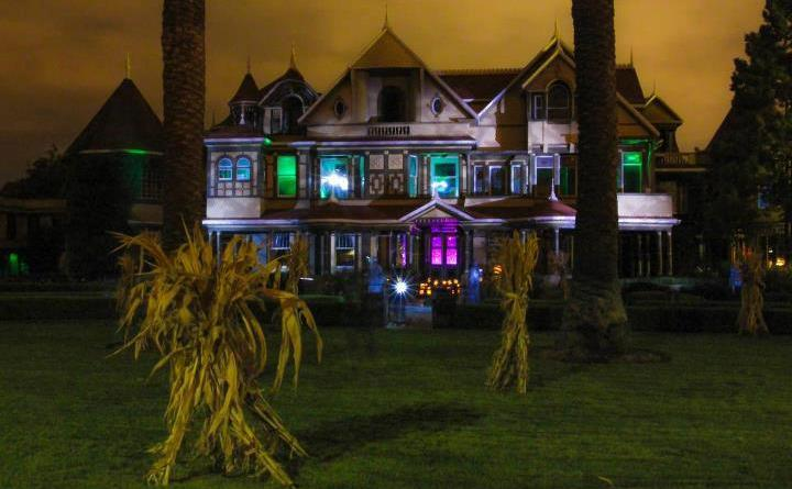 Winchester Mystery House long-shot