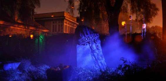 Winchester Mystery House tombstone