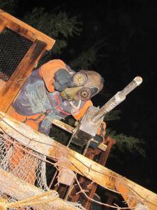 backwoods maze 2012 test zone mutant with machine gun