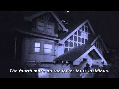 Evil Dead & Insidious: Halloween Horror Nights 2013 Review & Video
