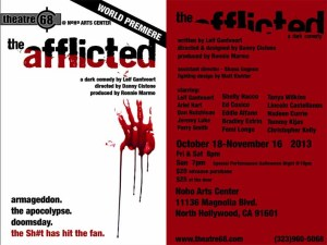 The Afflicted flier copy