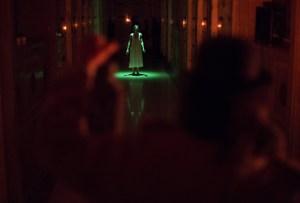 "Wicked Lit 2013: Katie Pelensky and Carlos Larkin in ""The New Catacomb."" Photo by Daniel Kitayama."