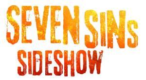 Haunted Hayride Seven Sins Sideshow logo