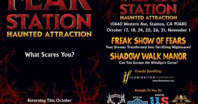 Fear Station 2014 correct dates