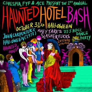 Halloween Bash Cinespia