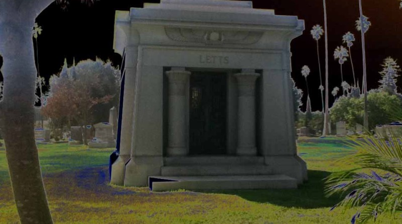 Hollywood Forever Cemetery: Letts Mausoleum