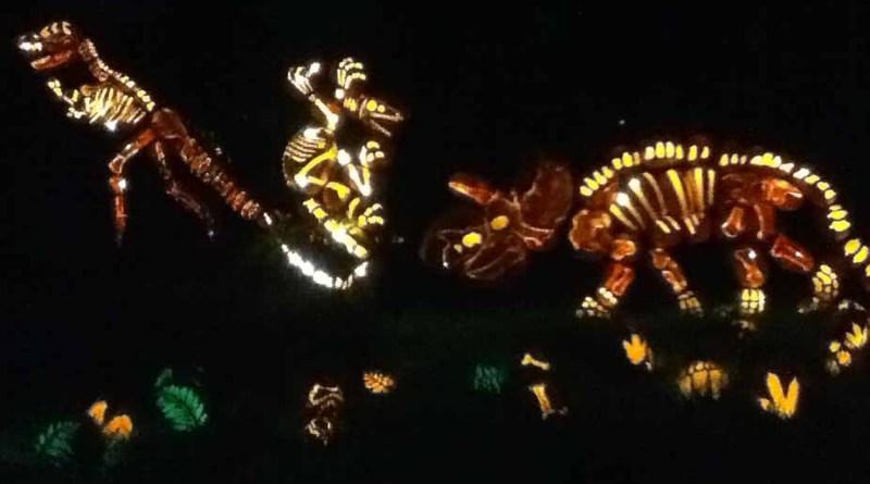 Rise of the Jack O'Lanterns 2014: Dinosaurs 1