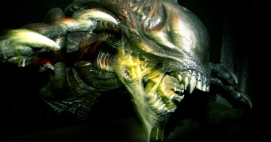 Halloween Horror Nights 2014: Alien in Alien vs Predator