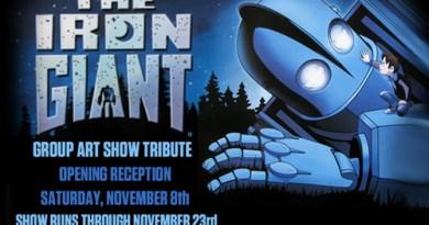 Iron Giant Art Show