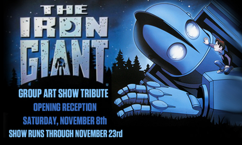 Iron Giant Art Show